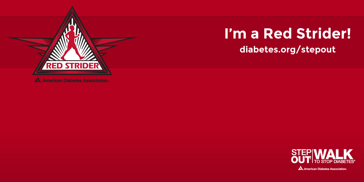 Red Strider Twitter Cover Photo