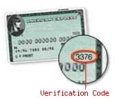 美国运通验证码