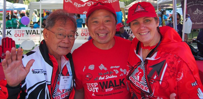 Walking  With Diabetes: Red Striders